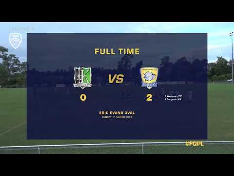 FQPL RD 6: Ipswich knights FC vs Capalaba Bulldogs FC Highlights
