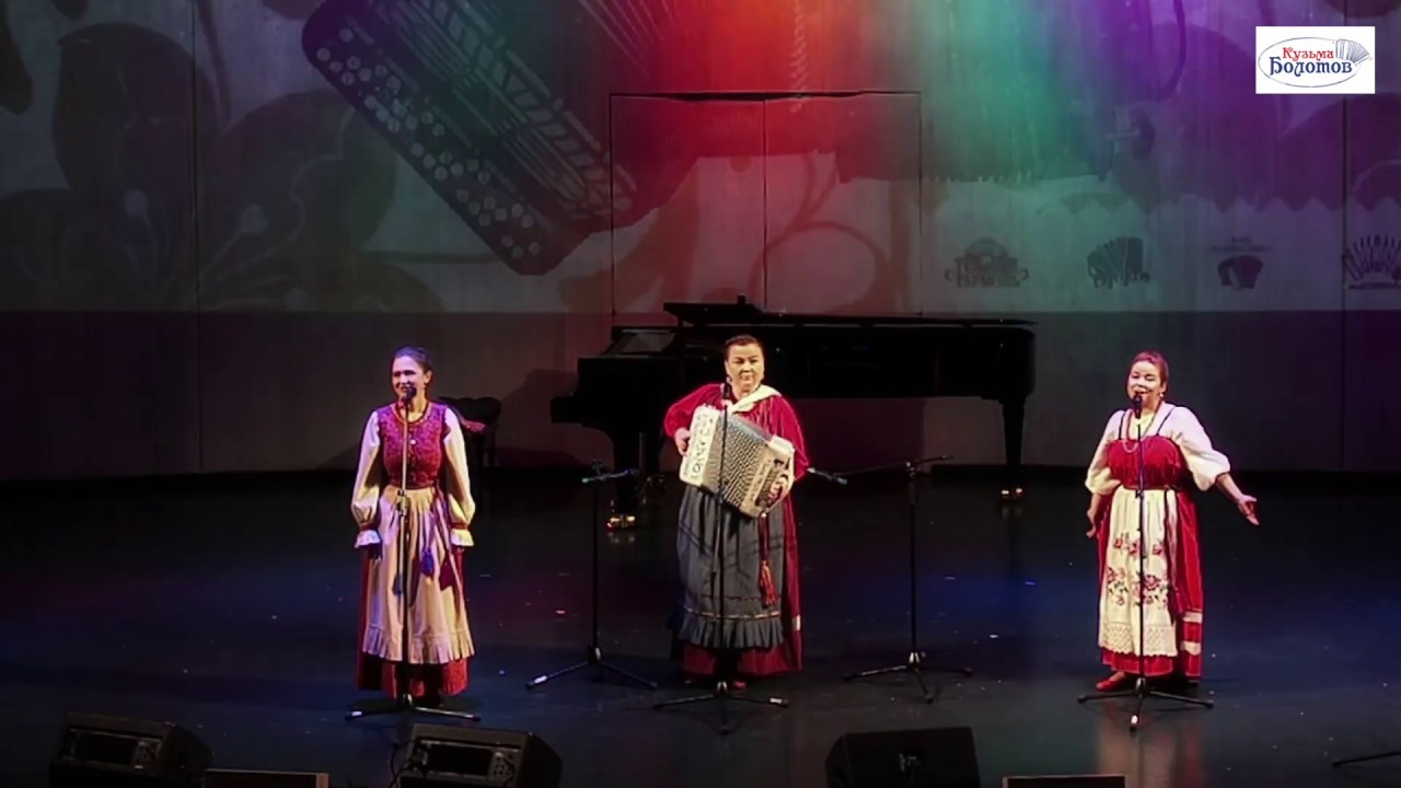 """Трио  """"Пташица"""" выступление на  фестивале """"Гармоника душа России, в доме Музыке г. Мо"""