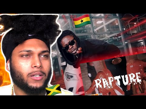 (TRB) 🇯🇲 Reacts To Shatta Wale - Rapture (Official Video)