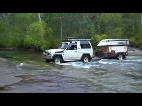 Daihatsu Rocky does the Tele Track,Cape York .2013
