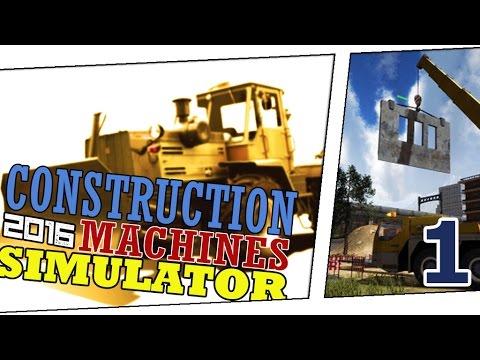Симулятор Строительных Машин 2016 (Construction Machines Simulator 2016) - Первый взгляд