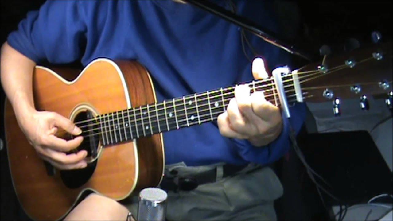 Wayfaring Stranger Fingerstyle Chords Youtube