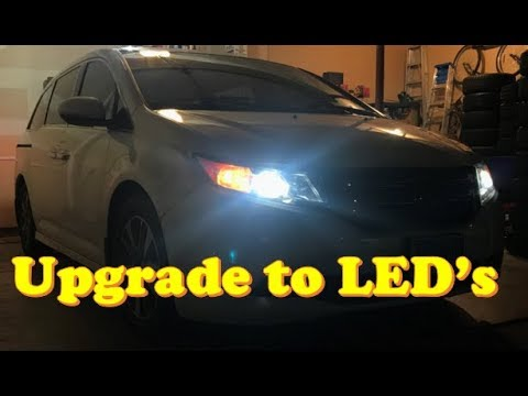 Honda Odyssey How To Change All Lights Led