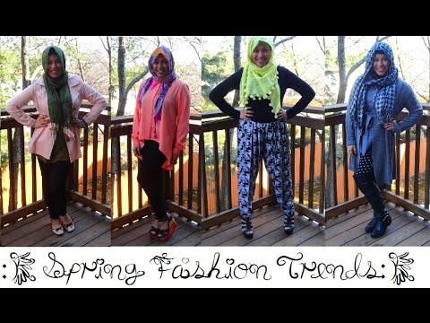 Spring Fashion Trends 2014 Lookbook: 4 Spring Outfit Ideas!