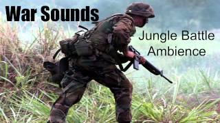 War Sounds - Jungle Battle Ambience - 1 Hour!