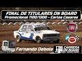 Fernando Debole #22 Promocional 1100/1300 (APTC) - Final de titulares - Carlos Casares (16/09/2018)