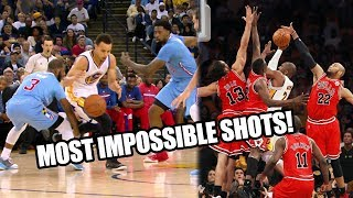 NBA MOST IMPOSSIBLE SHOTS EVER! Reaction