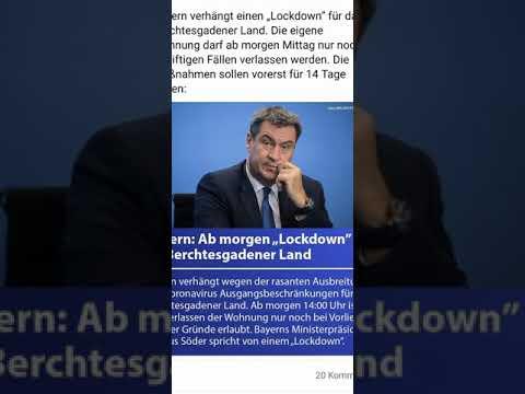 Achtung Bayern Berchtesgadener Land Lockdawon!!!!!!
