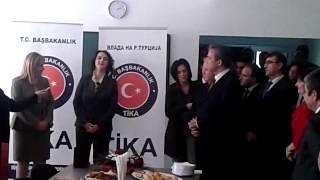 Мехмет Серја Ер во посета на СУГС Јосип Броз-Тито