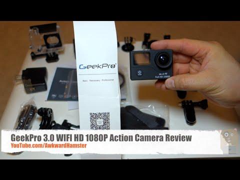 Geekpro Camera Review : Geekpro wifi hd p action camera review youtube