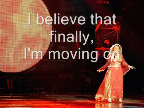 Sarah Dawn Finer - Moving On (With Lyrics) Melodifestivalen 2009