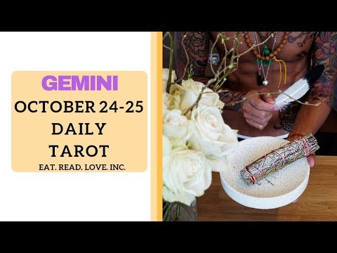 "GEMINI SOULMATE ""LAST CHANCE, BIG LIE COMING OUT"" OCT 24 25 DAILY TAROT READING"