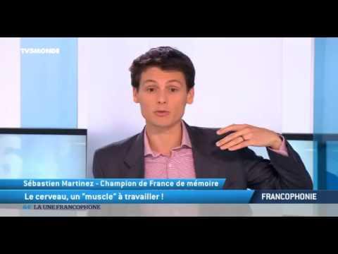 """21259 virgil TV5 Monde Le cerveau, un """"muscle"""" à travailler !"""
