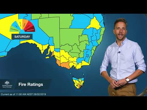 Severe Weather Update: Heatwave In Southern Australia, 28 February 2019