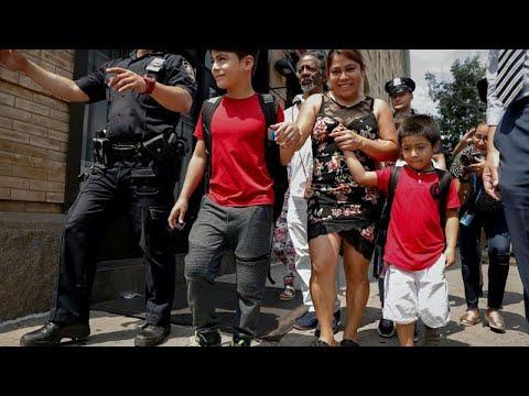 بأمر قضائي.. الحكومة الأمريكية ستمول لم شمل المهاجرين مع أبنائهم…  - 10:21-2018 / 7 / 14