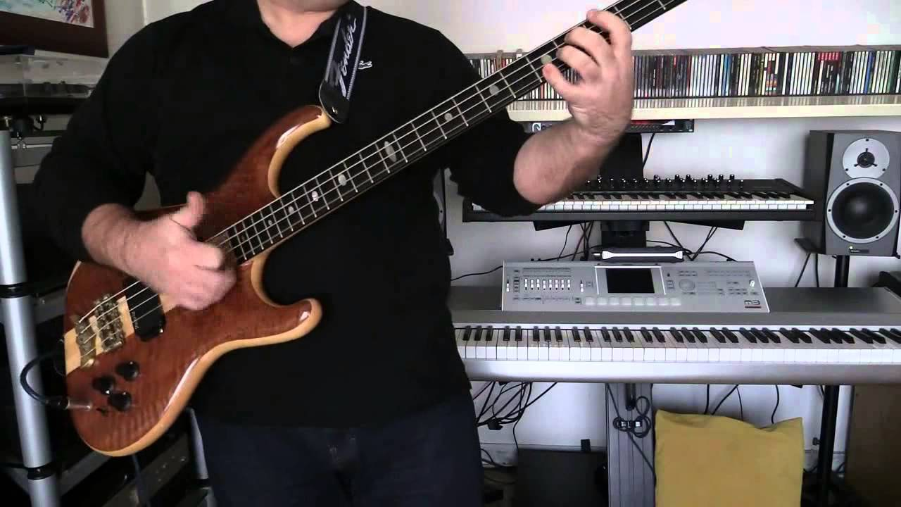 Bass Cover - Thompson Twins - Love On Your Side - with Alembic Elan bass