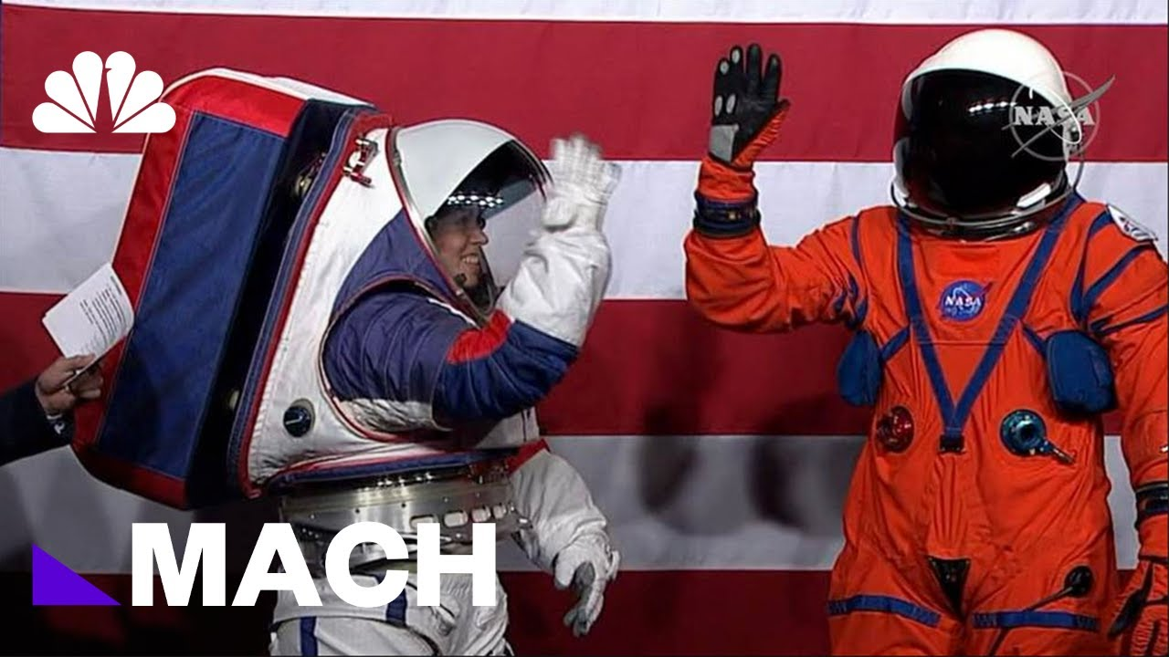 NASA's New Spacesuits Designed To Outperform Those Used In Apollo Program | Mach | NBC News