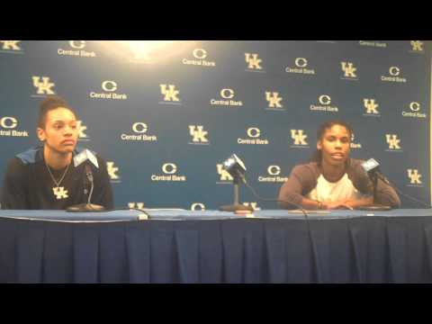 UK Hoops Players Post Game vs Morehead State Part 2