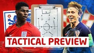England v Croatia Tactical Preview | World Cup Semi Final Live Stream