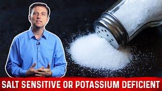 Are You Salt Sensitive or Potassium Deficient