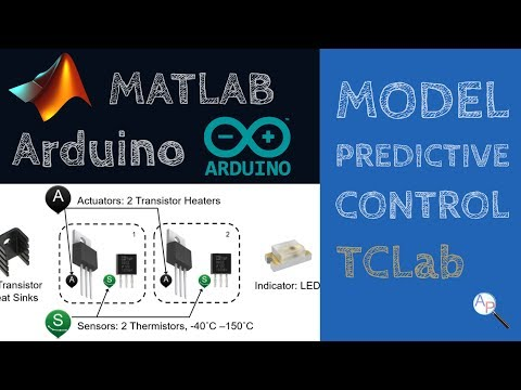 Model Predictive Control with Arduino in MATLAB