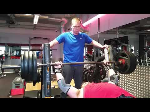 160kg/352lbs Bench Press personal best