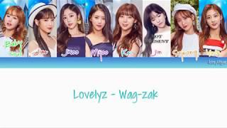 Lovelyz (러블리즈) – Wag-zak (여름 한 조각) Lyrics (Han Rom Eng COLOR CODED)