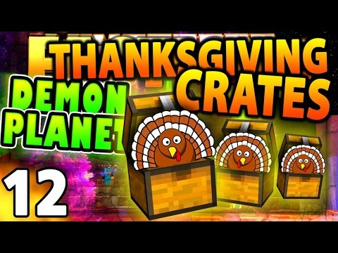 THANKSGIVING COSMIC CRATE! - Minecraft FACTIONS #11 - Cosmic S1