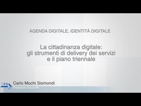 Mochi Sismondi - 11 - La cittadinanza digitale: gli strumenti di delivery...