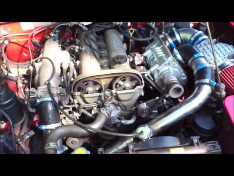 Mazda Miata Mx5 Eaton M45 Supercharger Testrun Youtube