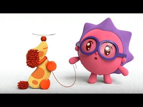 Малышарики - Обучающий мультик для малышей - Все серии подряд -  про Ориентацию в пространстве