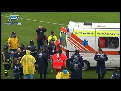 Piermario Morosini Death On The Pitch (heart Attack)