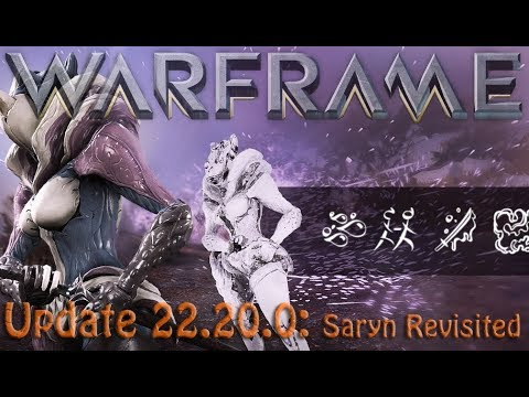 Warframe - Update 22.20.0: Saryn Revisited, Dojo 3.0 and SO much more!