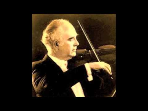 Joseph Silverstein plays Bartok's Violin Concerto No.2 - 1st Movement