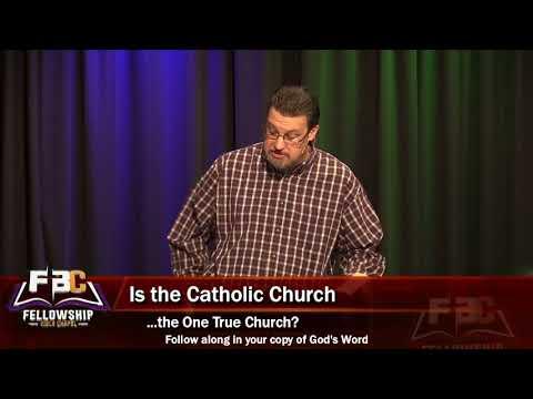 "2018 03 11 Pastor Steve Mitchell ""Rome's Deception: Concerning Catholicism"""