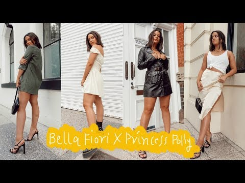 MY CLOTHING LINE!! bella fiori x princess polly reveal & try-on