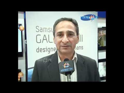 Ranjit Yadav, Country Head, Mobile & IT, Samsung Electronics Co. Ltd, hybiz.tv