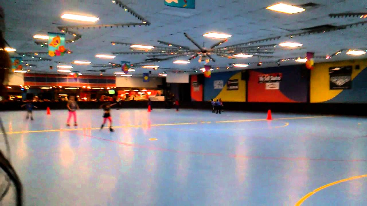 Roller skating visalia - Brianna In A Race At Roller Town