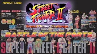 Battle of the Ports - Super Street Fighter II X / Turbo (スーパーストリートファイターII X) Show #115 - 60fps
