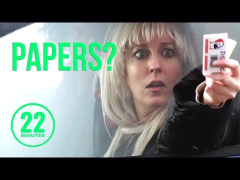 Pot At The Canadian Border | 22 Minutes