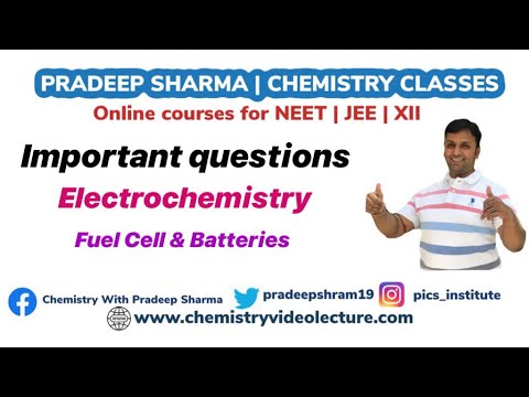 #21 Important Questions of Electrochemistry || Fuel Cell || Class-12 ||  Chemistry
