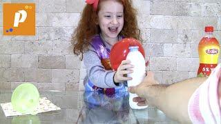 Научные эксперименты для детей, надуем шарик с помощью соды и уксуса: science Baloon star wars