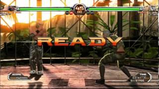 Virtua Fighter 5 FS:El Blaze Gameplay