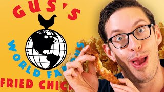 Keith Eats Everything At Gus' Fried Chicken