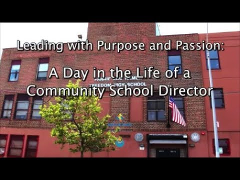 Children's Aid National Center for Community Schools Director Training Video