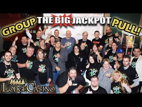 ✨ 1ST EVER ✨ HUGE Lodge Casino GROUP PULL 💣💣