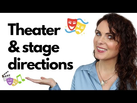 BLOCKING AND STAGE DIRECTIONS || FOR BEGINNERS