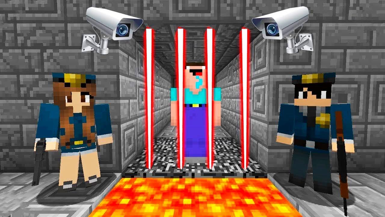 Майнкрафт Побег из Тюрьмы 1