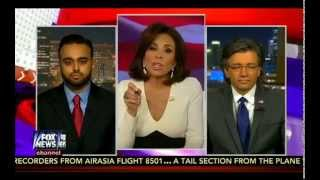 FoxNews: Justice with Judge Jeanine with Ahmadiyya Rep Harris Zafar on Islam & Jihad