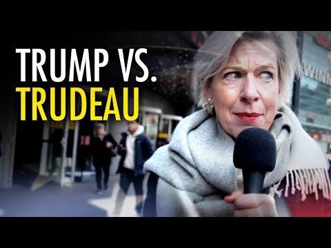 Katie Hopkins asks Torontonians about Trudeau, Trump